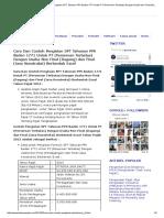 Cara Dan Contoh Pengisian Spt Tahunan Pph Badan 1771 Untuk Pt Perseroan Terbatas Dengan Usaha Non Final Dagang Dan Final Jasa Konstruksi Berbentuk Excel