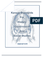 2013 kansas history government social studies standards