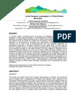 Os Espaços Livres de Campos - A Paisagem e o Plano Diretor Municipal.