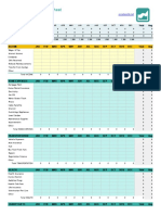 Excel Personal Budget Template