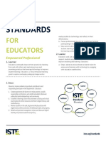iste standards for educators  permitted educational use