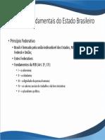 Princípios fundamentais do Estado Brasileiro
