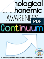 Phonological Phonemic Awareness Continuum OVERVIEW Clever Classroom.pdf