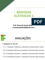 Aula 01 Medidas Elétricas 1
