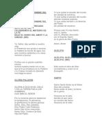 CANCIONES MISA PAPAL - PERU