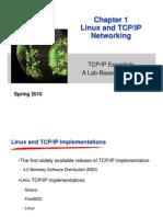 1 Linux&TCPIP Spring10