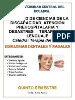 4. Disglosias Dentales y Nasales