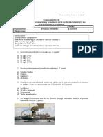 Evaluación IV UNIDAD 8vo