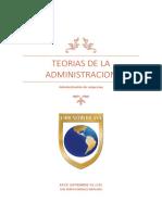 TEORÍAS DE LA ADMINISTRACIÓN