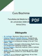 Biochimie Curs Prtea I