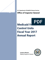 Medicaid Fraud Control Units Fiscal Year 2017 Annual Report