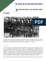 A 100 Años de la Revolución Rusa - Noelia F.