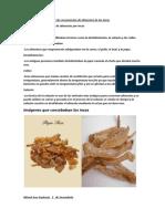 Transcripción de Tecnicas de Conservacion de Alimentos de Los Incas