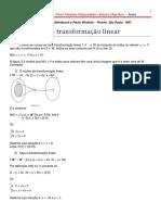 24ª Aula de AL - SI - Núcleo de Uma Transformação Linear
