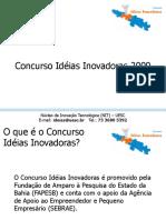 Concurso Ideias Tutorial