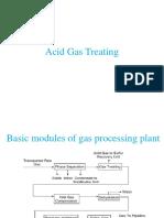 Acid Gas Treating
