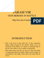 PARAM VIR Our Heroes in Battle