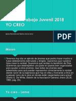 Plan de Trabajo Juvenil 2018