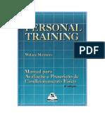 Personal Training - Manual Para Avaliação e Prescrição
