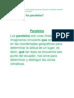 Historia Paralelos y Meridianos