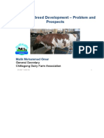Livestock Breed Development- Problem and Prospects by Malik Mohammad Omar