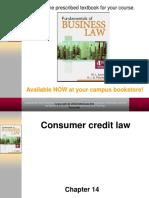 Consumer Credit Law