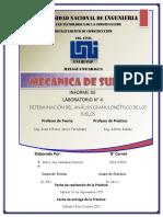 Laboratorio #4 de Mecánica de Suelos 1 - Análisis Granulométrico Del Suelo