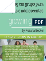 AApresentação Do Projeto Grow in Group