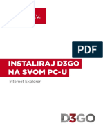 Instaliraj D3GO Na Svom PC-u Internet Explorer