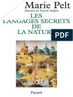 Jean-Marie Pelt - Les Languages Secrets de La Nature