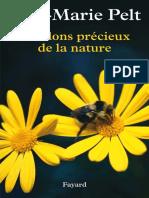 Jean-Marie Pelt - Les Dons Precieux de La Nature