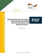 Espacios de Diálogo Estrategias Desarrollo