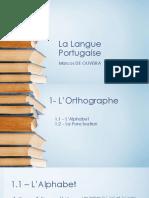 La Langue Portugaise