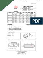 Kteb 2110 Uv Tp Pic Spec Sheet