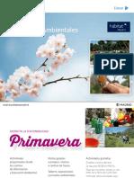 2018 - Programa de Actividades Ambientales Madrid Primavera