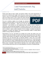FAS Reports 029 Nuclear Power and Nanomaterials Winter 2015