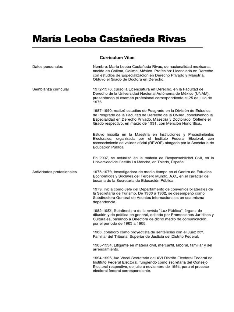 Lujoso Curriculum Vitae Para El Consultor De Arrendamiento Adorno ...