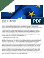 Israel e a Europa _ Chamada