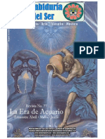 """Revista Gnostica de Insituto Cultural Quezalcoatl """"La Sabiduria del Ser"""""""