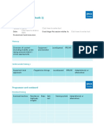 Programme Sample