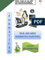 1. Texto Informatica II