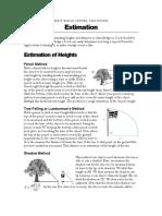 Notes Estimation