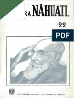 ESTUDIOS DE CULTURA NÁHUATL 22