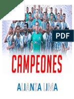 Alianza Lima Campeon Nacional