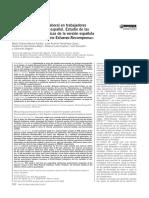 Evaluación del estrés laboral en trabajadores de un hospital público español. Estudio de laspropiedades psicométricas de la versión españoladel modelo «Desequilibrio Esfuerzo-Recompensa»