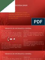 Terminología Linux