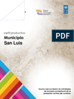 Perfil Productivo San Luis