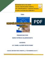 Tema Concepción Jurídica Constitucional Del Estado de El Salvador Paty Calderon