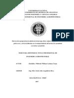 Efecto de la proporción de adición de betarraga (Beta vulgaris), papayita (Carica pubescens) y nivel de dilución en el enriquecimiento del néctar de carambola (Averrhoa carambola)