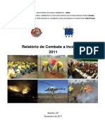 Relatorio Combates Prevfogo 2011